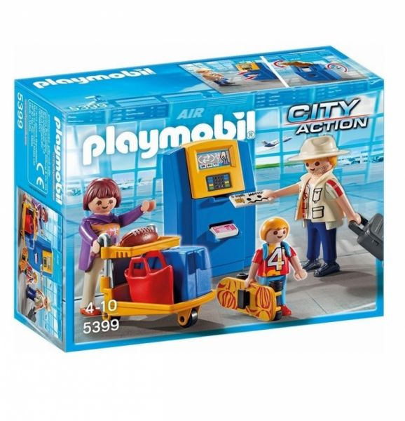 PLAYMOBIL® 5399 - Familie am Check-in Automat