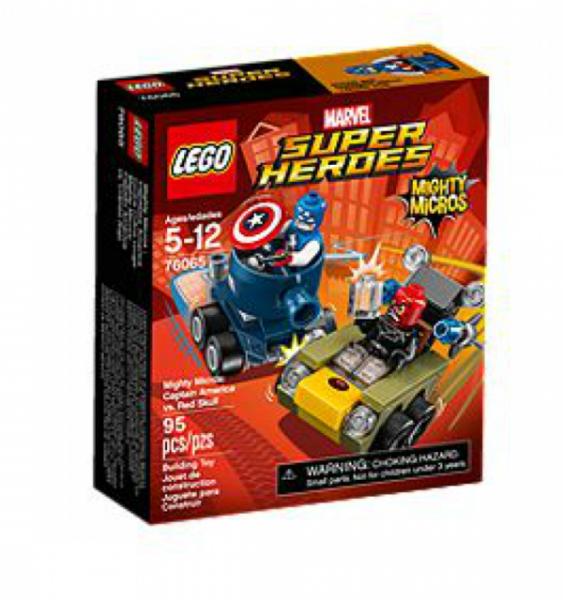 LEGO® Super Heroes 76065 - Mighty Micros: Captain America vs. Red Skull