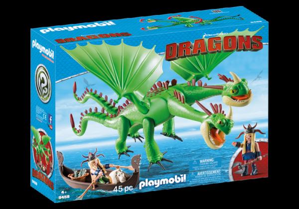 PLAYMOBIL® 9458 - Raffnuss und Taffnuss mit Kotz und Würg