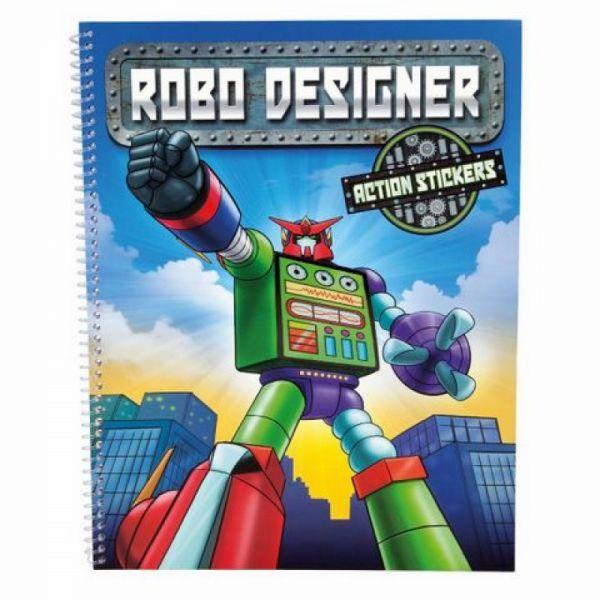Depesche - Malbuch Robo Designer