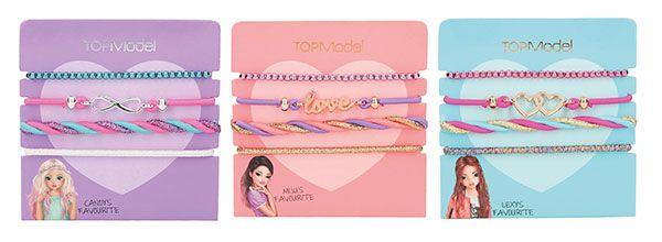 TOPModel - Set Haar- und Armband