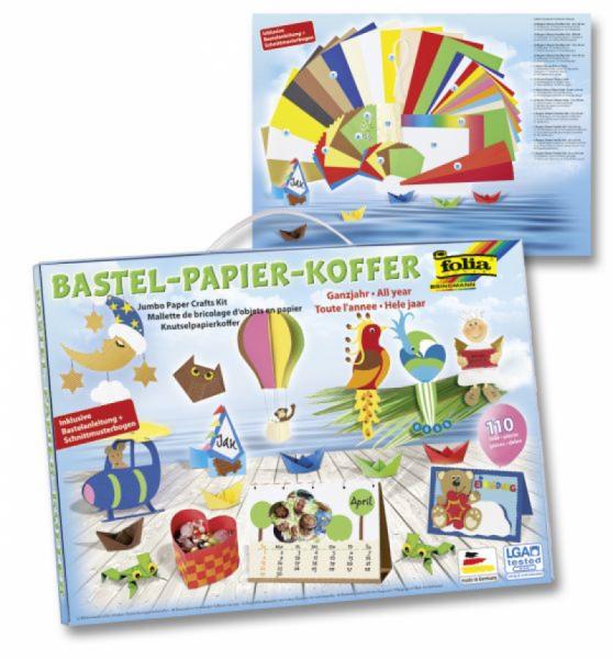 Folia - Bastelpapier Koffer