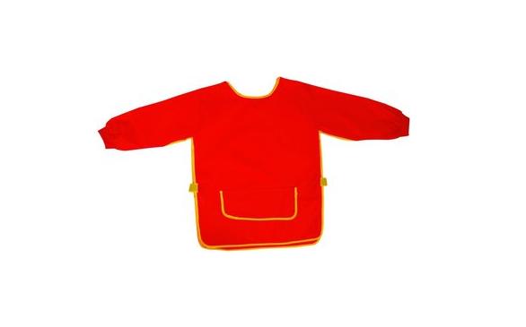 Idena - Bastelschürze (Malschürze) Rot