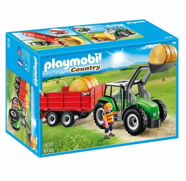 PLAYMOBIL® 6130 - Großer Traktor mit Anhänger