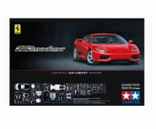 TAMIYA - Ferrari 360 rot Modena, 1:24