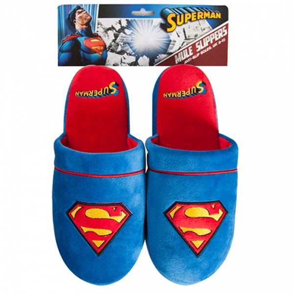 Fizz Creations - Superman Slippers, Medium
