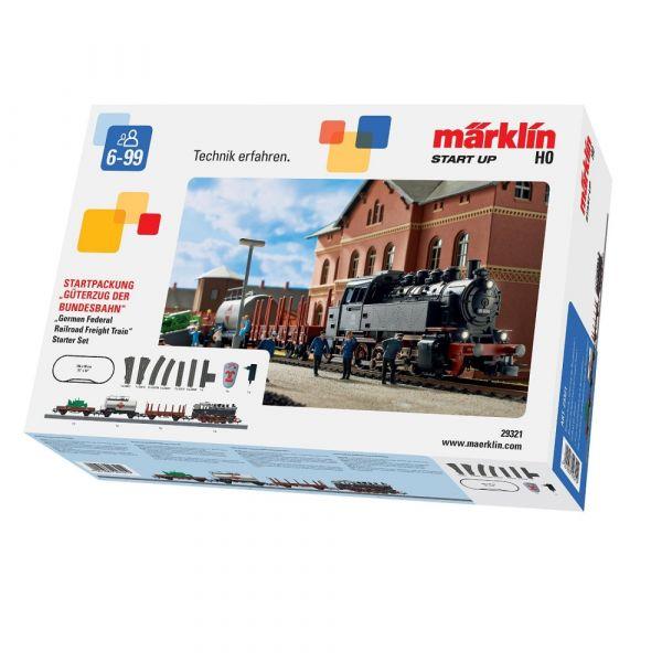 Märklin 29321 - Startpackung Güterzug der Bundesbahn, Spur H0