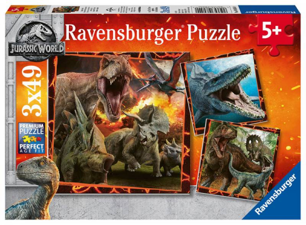 Ravensburger - Jurassic World 2: Fallen Kingdom Puzzle