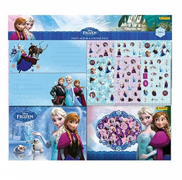 Panini - Sammelsticker Disney Frozen Partyset