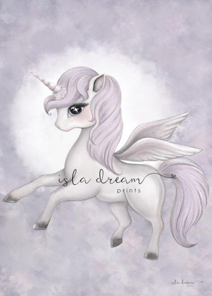 Isla Dream Prints - Poster Scarlett der Pegasus