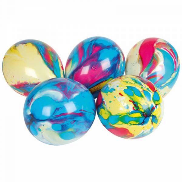 Marmorballons 8 Stück