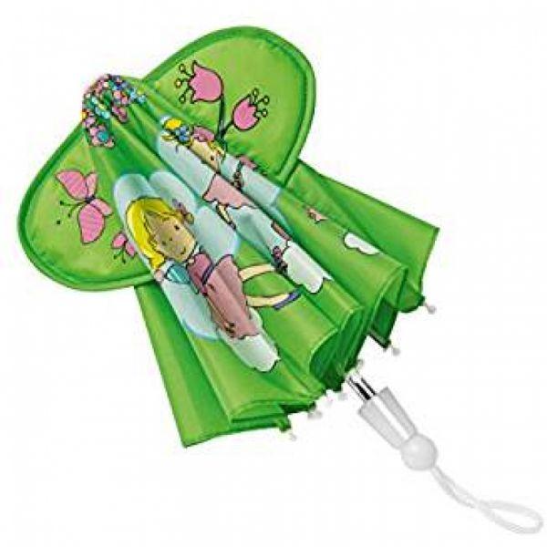 Heless - Regenschirm für Puppen, Blumenfee