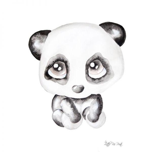 Little Rae Prints - Poster Poppy the Panda