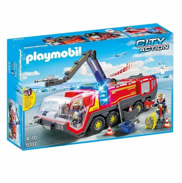 PLAYMOBIL® 5337 - Flughafenlöschfahrzeug mit Licht und Sound