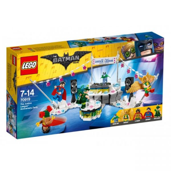 LEGO® The Batman Movie 70919 - The Justice League Anniversary Party