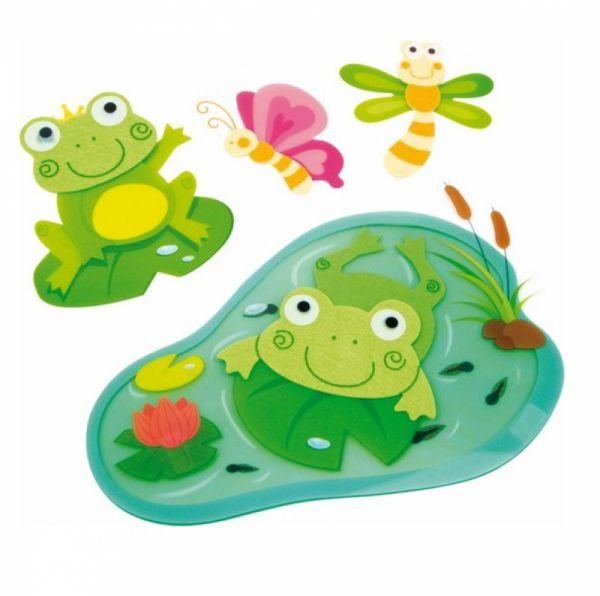 "Small Foot - Dekosticker ""Frosch"""