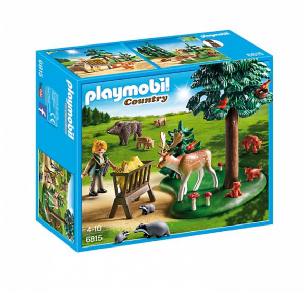 PLAYMOBIL® 6815 - Waldlichtung mit Tierfütterung