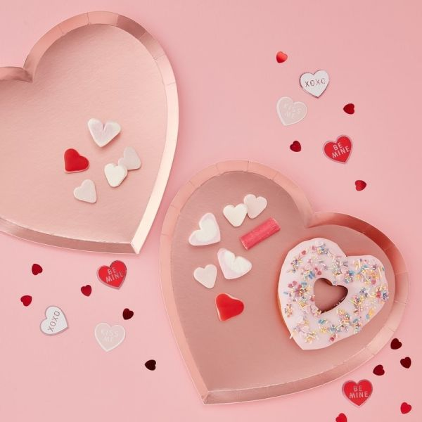 "Ginger Ray - Partyteller ""Pink Heart"""