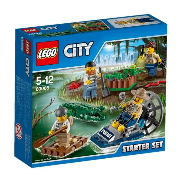 LEGO® City 60066 - Sumpfpolizei Starter-Set