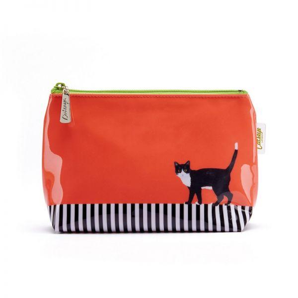 Catseye - Cat on Stripe Small Bag