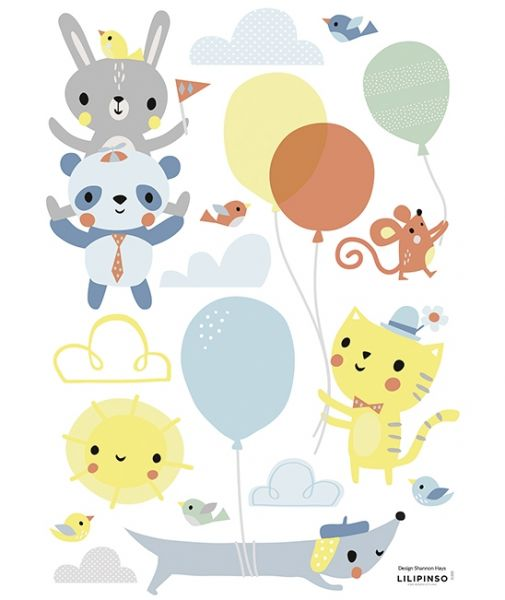 Lilipinso - Wandsticker Happy Friends