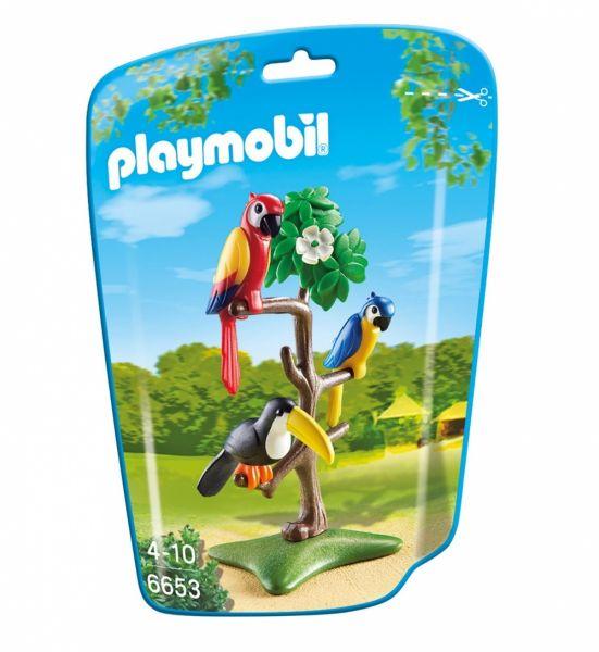 PLAYMOBIL® 6653 - Papageien und Tukan im Baum
