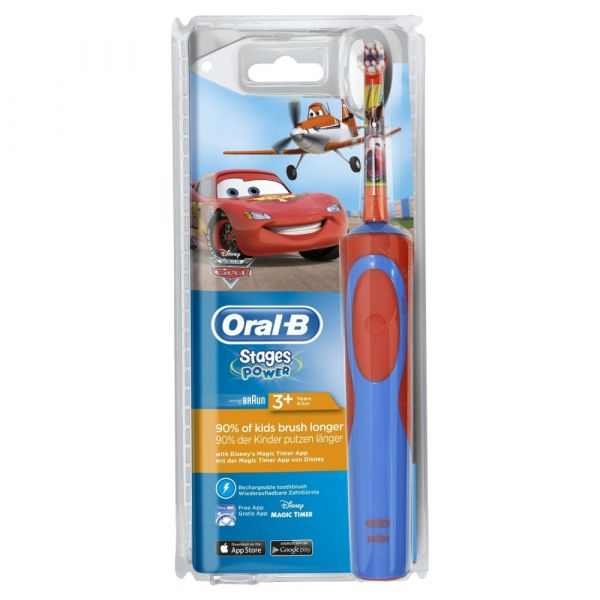Braun Oral-B - Stages Power Kids Cars/Planes, elektrische Zahnbürste