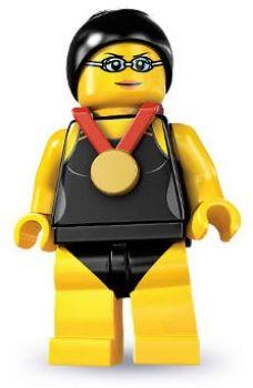LEGO® Minifiguren Serie 7 - Nr. 1 Schwimmchampion