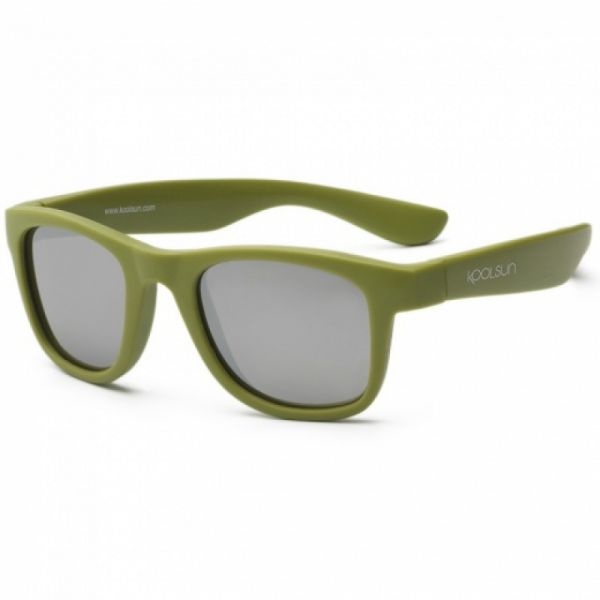 Koolsun - Kindersonnenbrille Wave Army Green