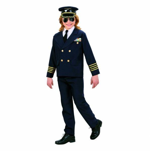 Kinderkostüm - Pilot, Grösse 128