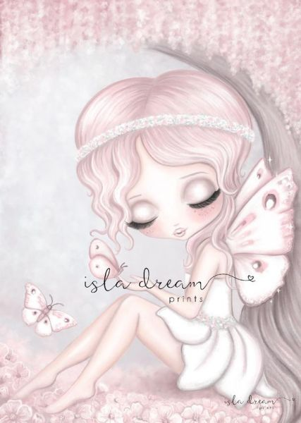 Isla Dream Prints - Poster Grace im Garten