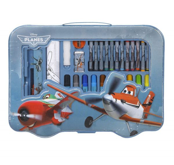 Undercover - Malkoffer Disney Planes, 43-teilig