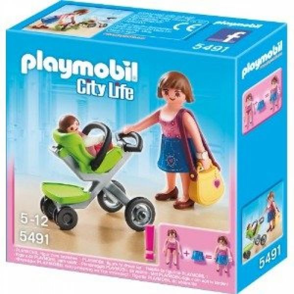 PLAYMOBIL® 5491 - Mama mit Kinderwagen