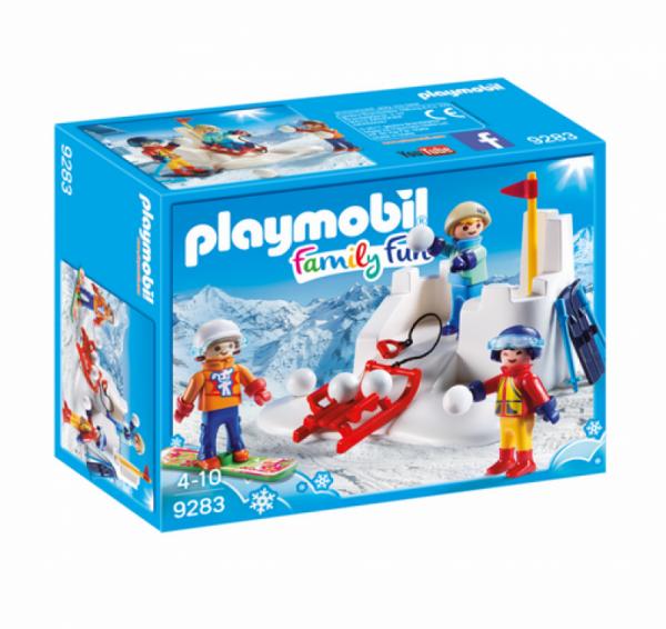 PLAYMOBIL® 9283 - Schneeballschlacht