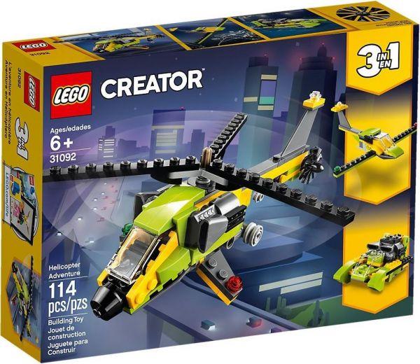 LEGO® Creator 31092 - Hubschrauber-Abenteuer
