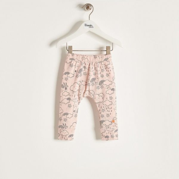 Bonniemob - Leggings Sunshine & Rain rosa