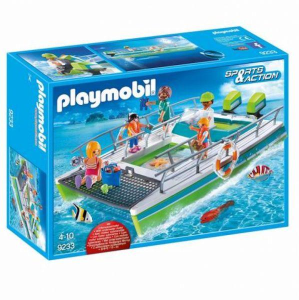 PLAYMOBIL® 9233 - Glasbodenboot mit Unterwassermotor