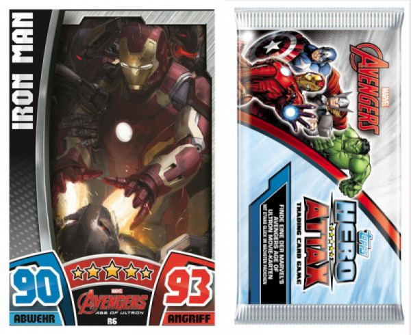 Topps - Hero Attax Starter Set