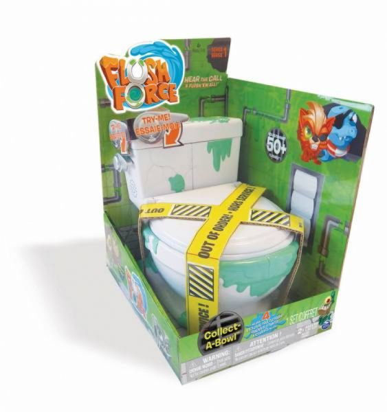 Spin Master - Flush Force Collect a Bowl