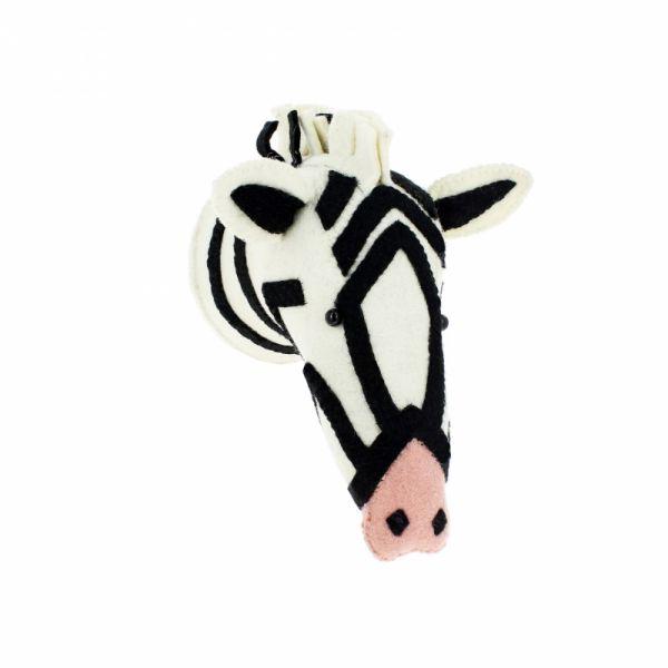 Fiona Walker - Zebra mit rosa Nase
