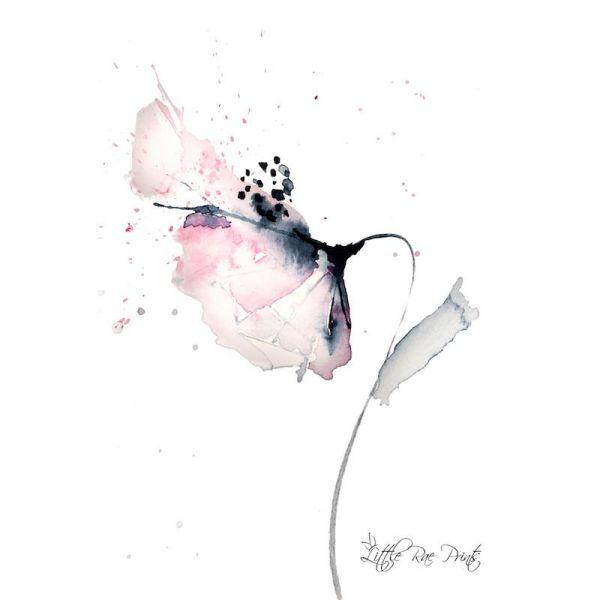 Little Rae Prints - Poster Poppy 1