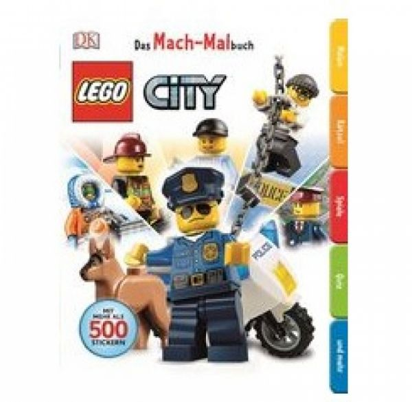 LEGO® City - Das Mach-Malbuch