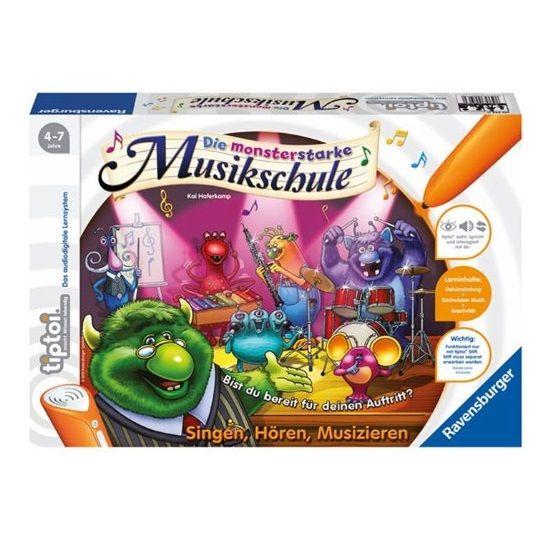Ravensburger tiptoi® - Die monsterstarke Musikschule (ohne Stift)