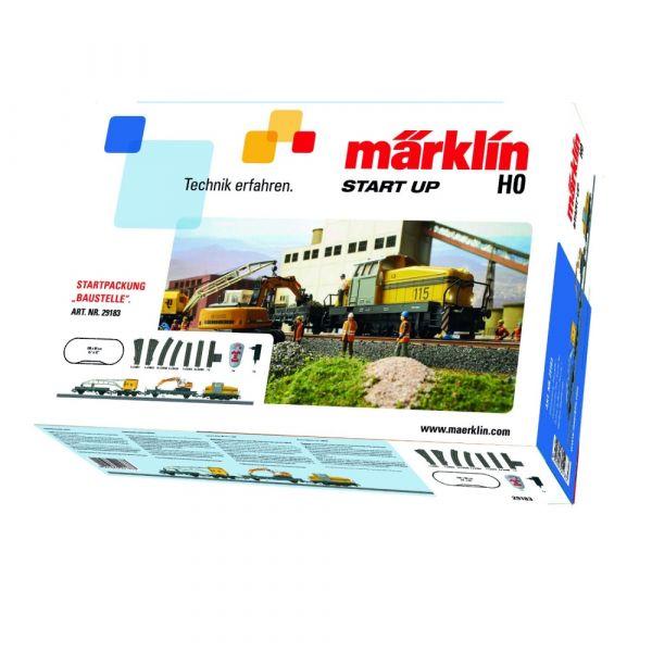 Märklin 29183 - Startpackung Baustelle, Spur H0