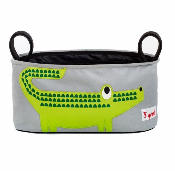 3 sprouts - Kinderwagen- Buggytasche Krokodil