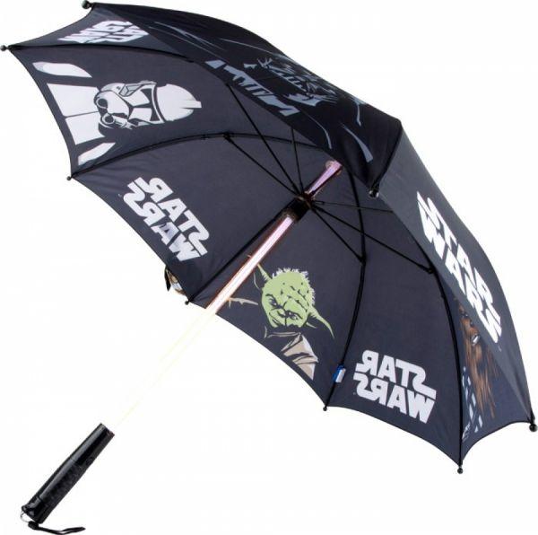 Star Wars Regenschirm Lichtschwert