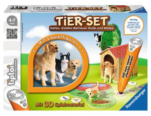 Ravensburger tiptoi® - Tier-Set Golden Retriever