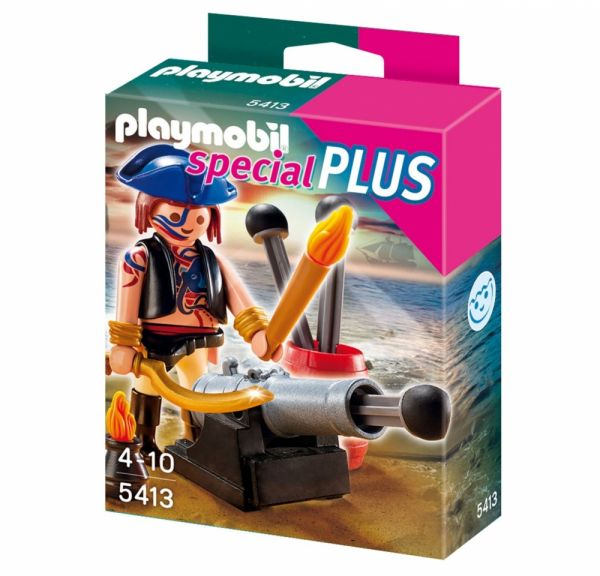 PLAYMOBIL® 5413 - Piratenangriff mit Kanone