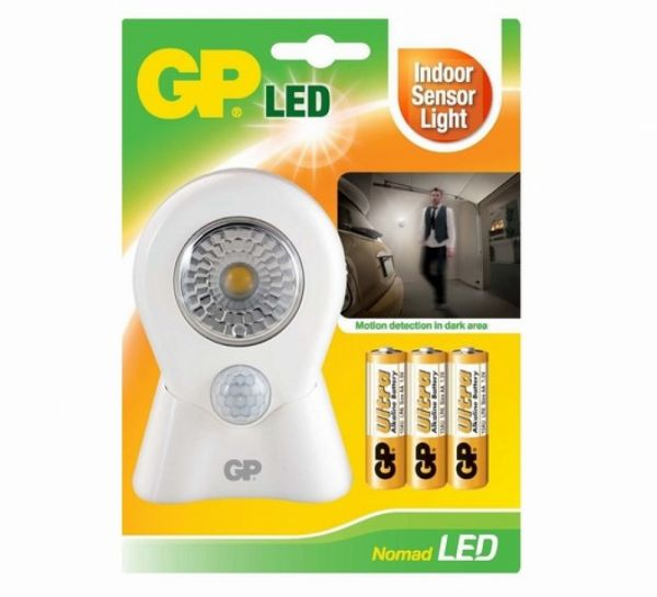 GP - Lighting Nomad LED Leuchte mit Bewegungsmelder