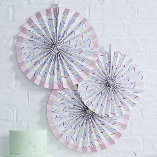 Ginger Ray - Wanddekoration Rosetten Sprinkles